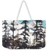 View From Twister Lift Weekender Tote Bag