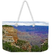 View From Walhalla Overlook On North Rim Of Grand Canyon-arizona  Weekender Tote Bag