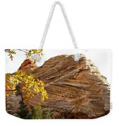 View From Zion-mount Carmel Highway In Zion Np-ut Weekender Tote Bag