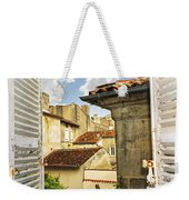 View In Cognac Weekender Tote Bag