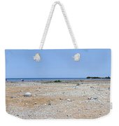 View In Front Of Mission Point Light House 03 Weekender Tote Bag