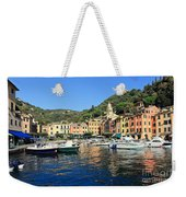 view in Portofino Weekender Tote Bag