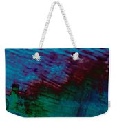 View From In  A Rain Storm Weekender Tote Bag