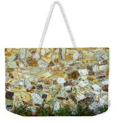 View Of A Stone Wall Weekender Tote Bag