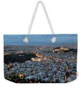 View Of Athens During Dawn Weekender Tote Bag