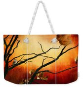 View Of Autumn Weekender Tote Bag by Lourry Legarde