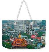 View Of Bangkok Buildings From Grand China Princess Hotel In Bangkok-thail Weekender Tote Bag