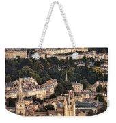View Of Bath England Weekender Tote Bag