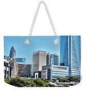 view of Charlotte North Carolina Weekender Tote Bag