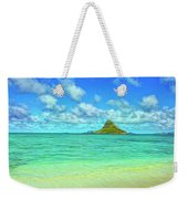 View Of Chinaman's Hat Weekender Tote Bag