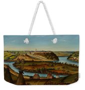 View Of Fort Snelling Weekender Tote Bag