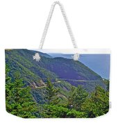 View Of Highlands Road From Skyline Trail In Cape Breton Highlands Np-ns Weekender Tote Bag