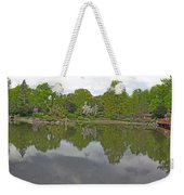 View Of Japanese Garden, Wroclaw, Poland Weekender Tote Bag