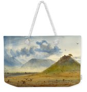 View Of Marathon Weekender Tote Bag