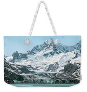 View Of Margerie Glacier In Glacier Bay Weekender Tote Bag