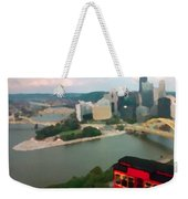 View Of Pittsburgh From Mt. Washington Weekender Tote Bag