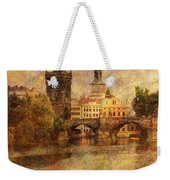 View Of Prague Weekender Tote Bag