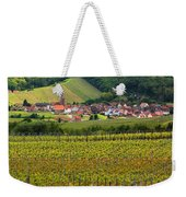 View Of Rodern From The Vineyards Of Alsace Weekender Tote Bag