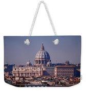 View Of Rome 2013 Weekender Tote Bag