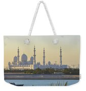View Of Sheikh Zayed Grand Mosque Weekender Tote Bag