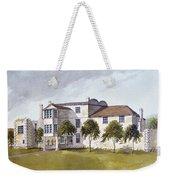 View Of Sir Noel De Carons House, 1809 Wc On Paper Weekender Tote Bag