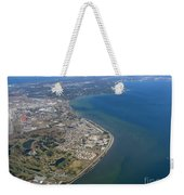 View Of Tampa Harbor Before Landing Weekender Tote Bag