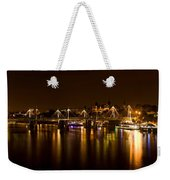 View Of Thames River From Waterloo Weekender Tote Bag
