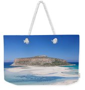View Of The Balos Beach, Gramvousa Weekender Tote Bag