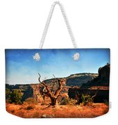 View Of The Canyon Weekender Tote Bag by Marty Koch
