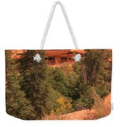 View Of The Cliffs From The Cliff Weekender Tote Bag