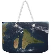 View Of The Indian Subcontinent Weekender Tote Bag