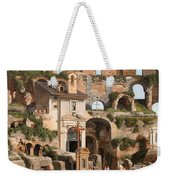 View Of The Interior Of The Colosseum Weekender Tote Bag