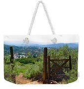View Of The Ojai Valley Weekender Tote Bag