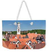 View Of The Old Town With St. Martins Weekender Tote Bag