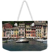 View Of The Portofino, Liguria, Italy Weekender Tote Bag