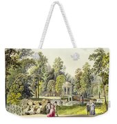 View Of The Temple Of Diana At Erlaw Weekender Tote Bag