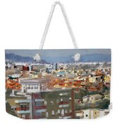 View Of Tirana From Dajti Mountain Weekender Tote Bag