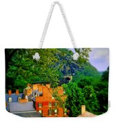View Of Train Tunnel Weekender Tote Bag
