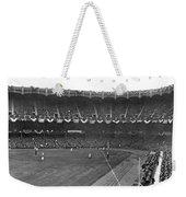 View Of Yankee Stadium Weekender Tote Bag