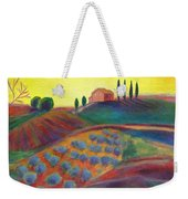 View On The Olive Grove Weekender Tote Bag