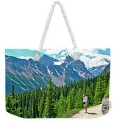 View On Trail To Lake Agnes In Banff Np-alberta Weekender Tote Bag