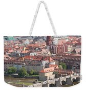 View Onto The Town Of Wuerzburg - Germany Weekender Tote Bag