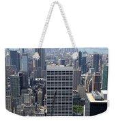View Over Manhattan I Weekender Tote Bag