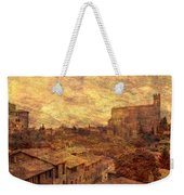 View Over Siena And San Domenico Weekender Tote Bag