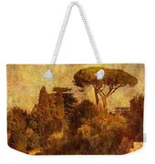 View Over The Forum In Rome Weekender Tote Bag
