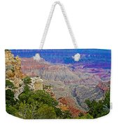 View Seven From Walhalla Overlook On North Rim Of Grand Canyon-arizona Weekender Tote Bag
