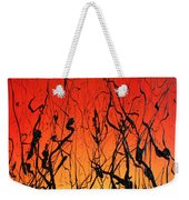 View Through The Tall Grass Weekender Tote Bag