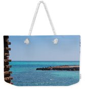View Through The Walls Of Fort Jefferson Weekender Tote Bag