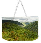 View To The Valley Weekender Tote Bag