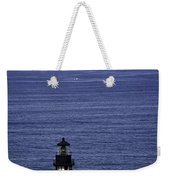 Viewing The Newport Lighthouse Weekender Tote Bag